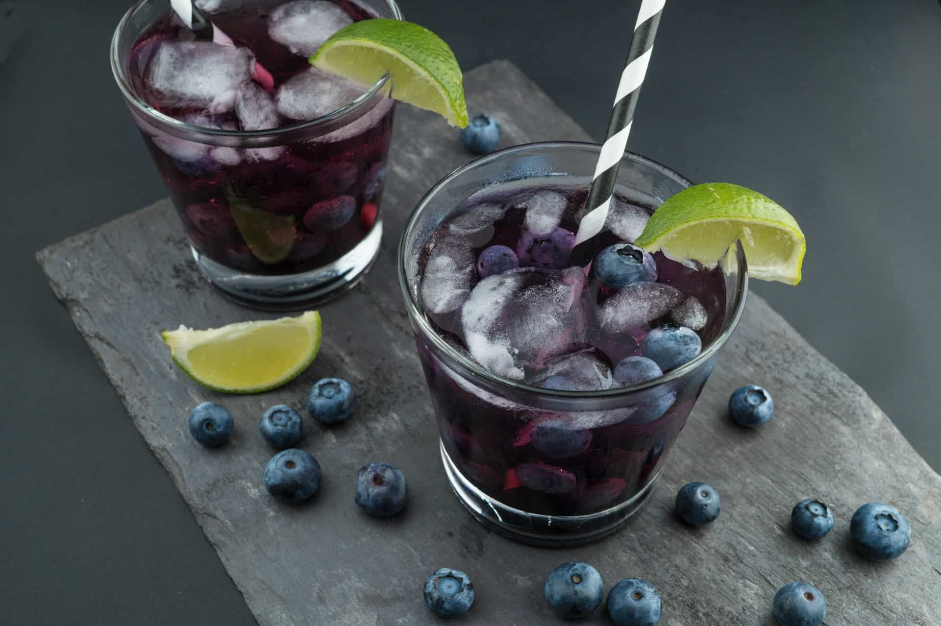 Lemon And Blueberry Water