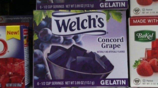 Gelatin In Fruit Snacks