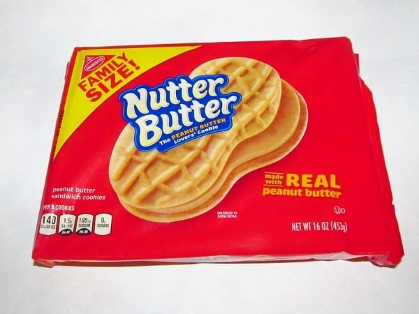 Traditional Nutter Butter